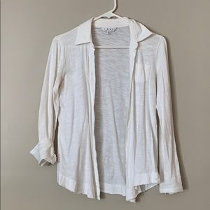 🌟CAbi🌟 Long Sleeve Button Up 100% Cotton